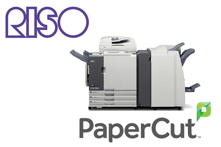 PaperCut Riso embedded