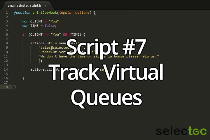 track virtual queues