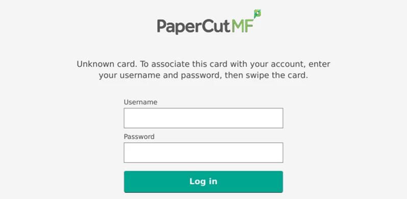 PaperCut MF Version 17 3 - Select Technology Ltd