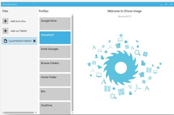 Drivve Image v8 - Select Technology Ltd