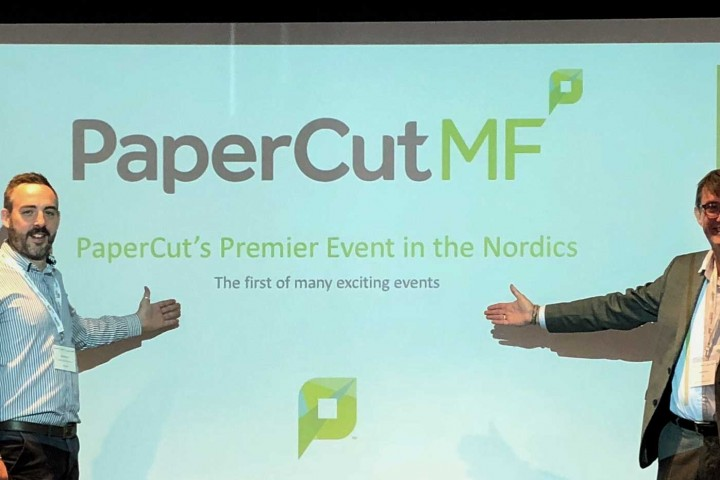PaperCut Partner Event – Stockholm