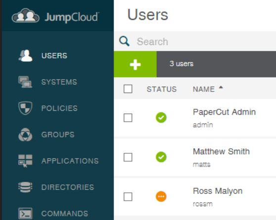 Syncing PaperCut with JumpCloud - Select Technology Ltd