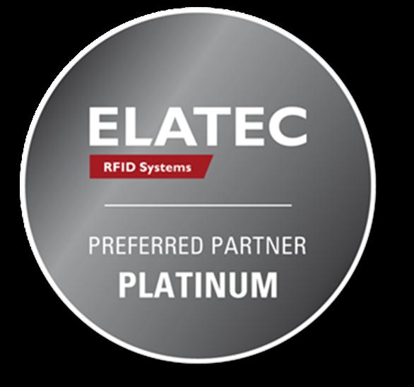 Elatec Platinum Partner logo